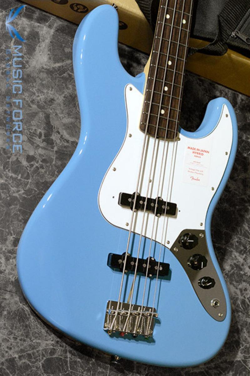 Fender Japan Hybrid 60s Jazz Bass-California Blue w/Rosewood FB (2017년산/신품)  펜더 재팬 하이브리드 60s 재즈 베이스