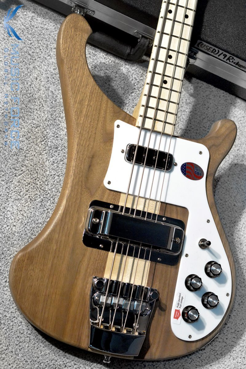 [Used] Rickenbacker 4003SW Bass-Natural Walnut w/Maple FB (2019년산/신품급중고)
