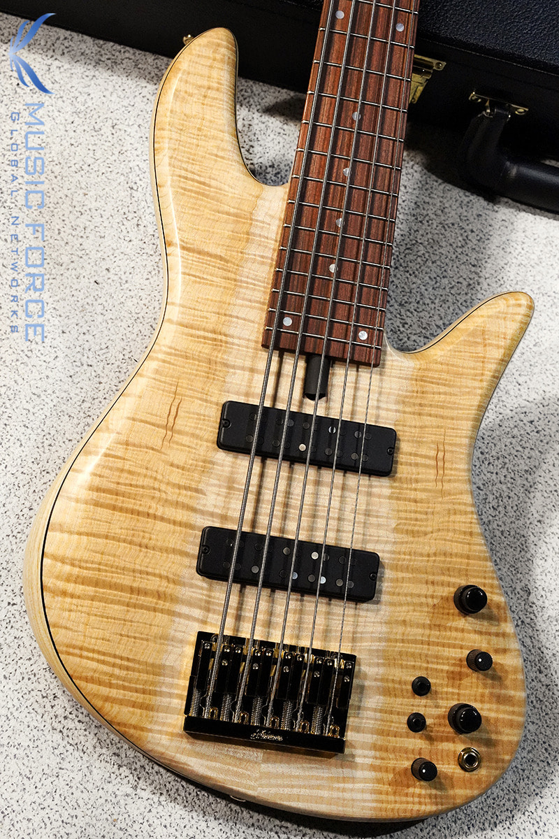 Fodera Emperor 5 Standard w/Bi-Color(2-Tone) Flame Maple Top #1(2020년산/신품)