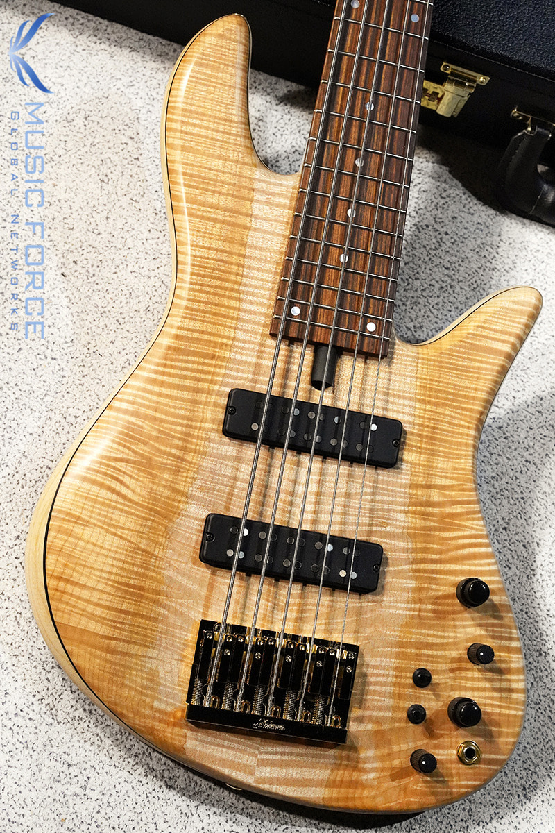 Fodera Emperor 5 Standard w/Bi-Color(2-Tone) Flame Maple Top #2(2020년산/신품)