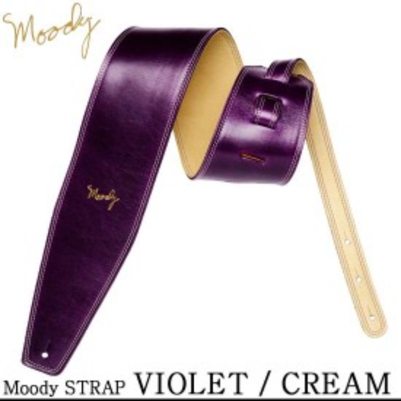"Moody 4.0"" Violet/Camel Leather Std"