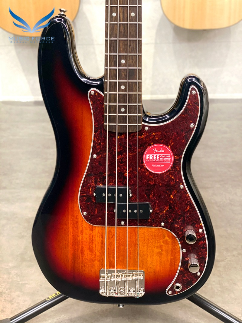 Squier Classic Vibe 60s Precision Bass-3TSB w/Indian Laurel FB (2020년산/신품)