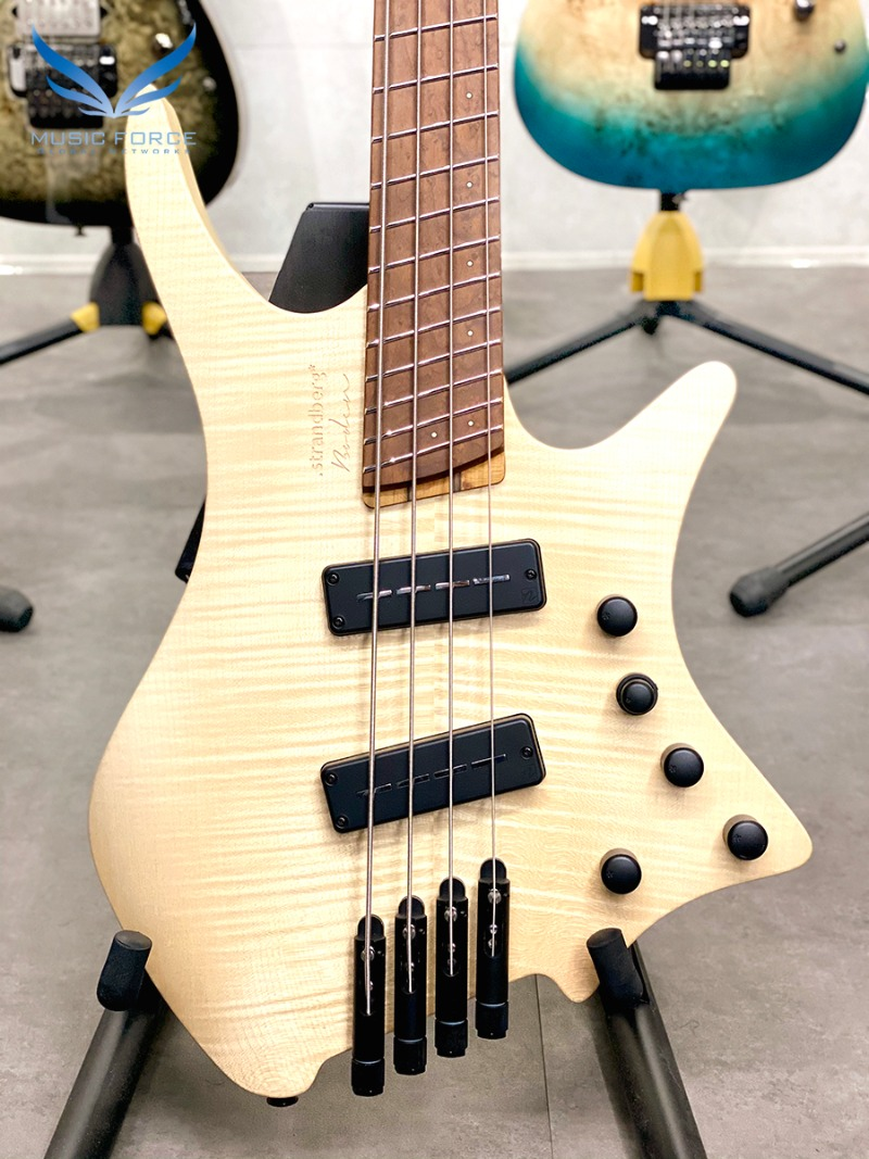 Strandberg Boden Original 4 Bass-Natural w/Roasted Birdseye Maple FB(신품) - C2007590