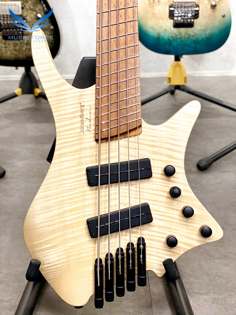 Strandberg Boden Original 5 Bass-Natural w/Roasted Birdseye Maple FB(신품) - C2007672