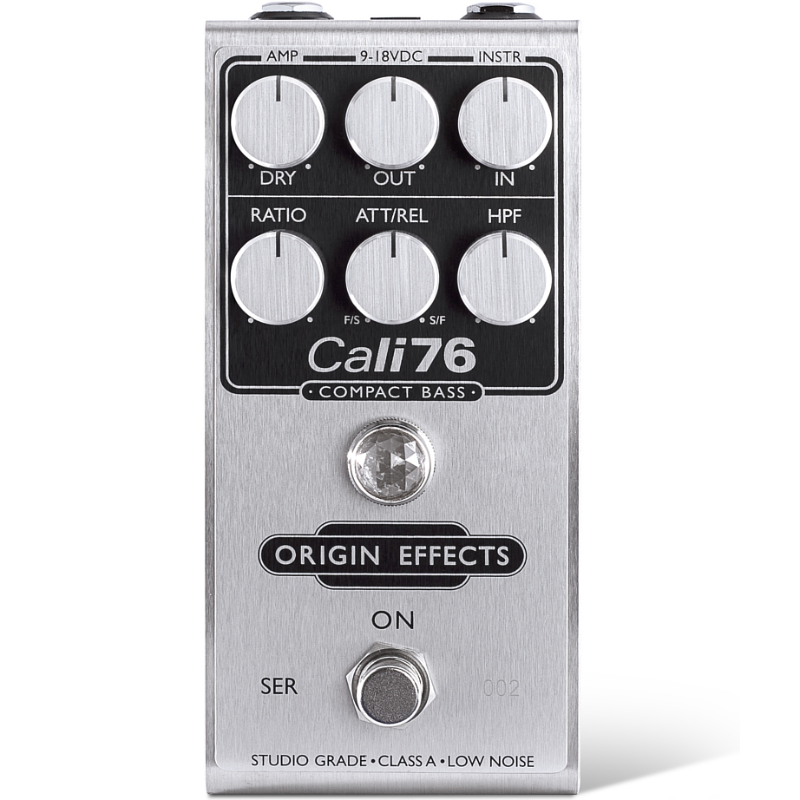 Origin Effects Cali76 Compact Bass Compressor